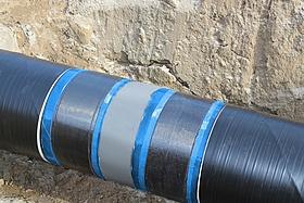 Pipeline repair using DEXPAND<sup>®</sup>-CF70