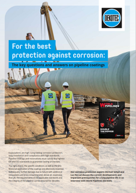World Pipelines - For the best protection against corrosion